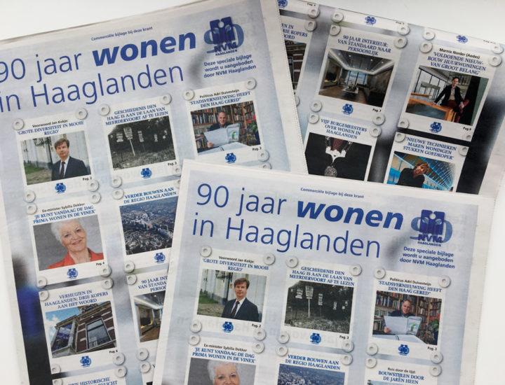 90 Jaar NVM Haaglanden Jubileum Uitgave